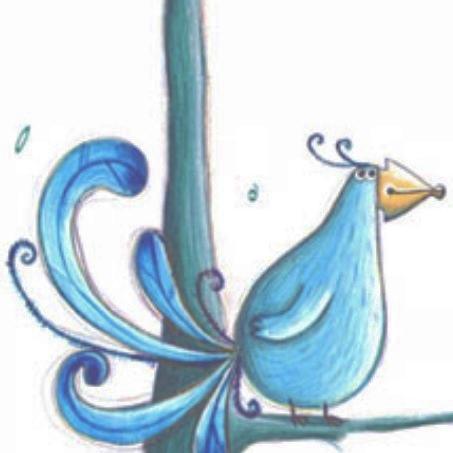Oiseu bleu